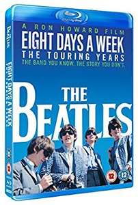The Beatles: Eight days a week - the touring years blu ray £2.38 @ Amazon prime (£2.99 p&p non prime)
