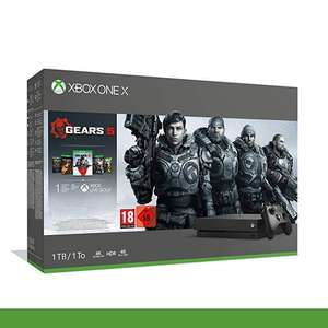 Xbox One X 1TB Gears 5 Bundle inc. GOW 1 to 5 plus 1 Month Game Pass + 14 days Live £246.33 @ Amazon France (or £237 using fee free card)
