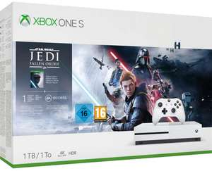 Xbox One S 1TB Star Wars Jedi Fallen Order Bundle with 1M Game Pass + 1M Gold £169.34 Delivered @ Amazon Spain (or £164 using fee free card)