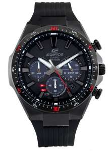 Casio Edifice Solar Carbon Fiber Chronograph Men's Watch £109.99 at Argos