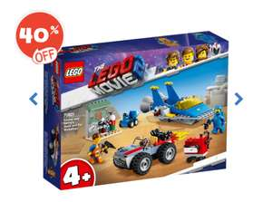 The LEGO Movie 2 Emmet and Benny's Build and Fix Works - 70821 Now £10.80 @ The Entertainer Free C&C or £3.99 delivery