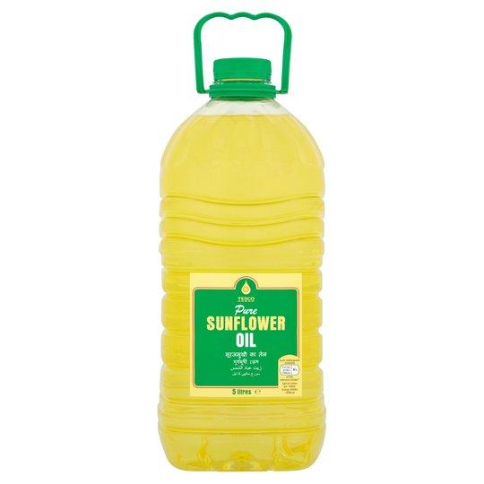 Tesco pure sunflower oil 5 litre £3.50