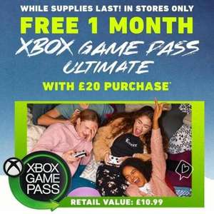 Hollister (Free 1 Month Xbox Game Pass Ultimate * with £20.00 spend in store only