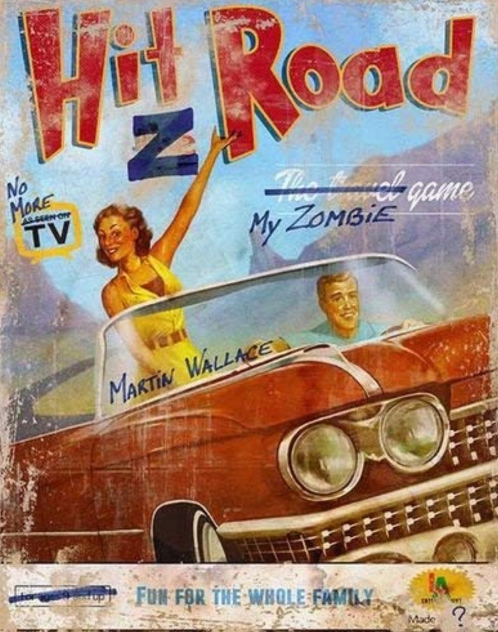 Hit Z Road Board Game - £7.99 delivered @ Groupon