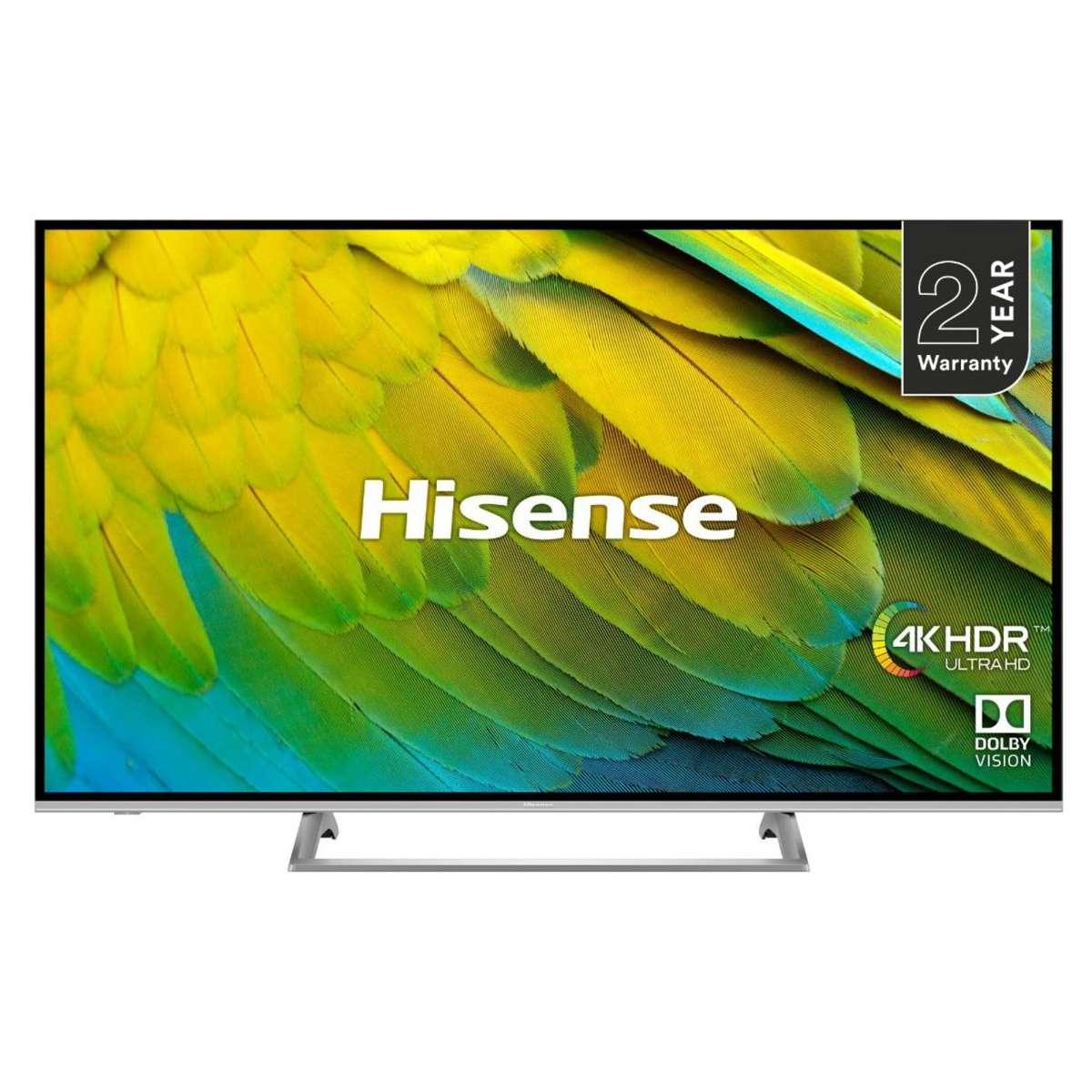 "Hisense H43B7500UK 43"" 4K HDR Certified Smart TV (More deals in post) (2 Year Warranty) £259 Delivered @ Hughes"