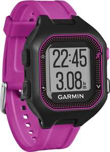 Garmin Forerunner 25 Running Watch, Black/Purple £39.97 Amazon