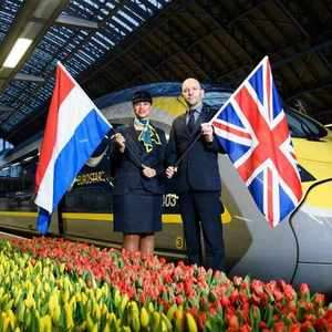 Direct Eurostar return service to Amsterdam £67.24 (May - August dates) @ Omio