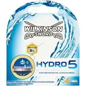 Wilkinson sword hydro 5 blades £5.78 at Tesco express