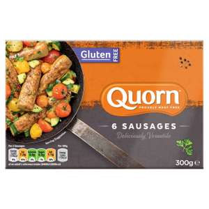 Quorn Gluten Free Sausages 6pk 300g £1 @ Farmfoods