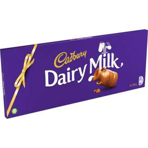 Large Dairy Milk Chocolate bar 850g - only £4.99 instore @ B&M, Liverpool