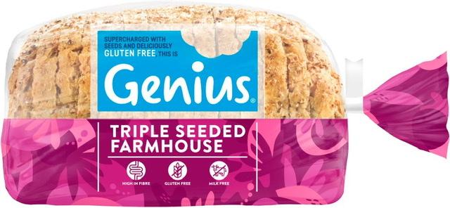 Genius Gluten Free Farmhouse Sliced Loaf 535g £1.50 @ Jack's
