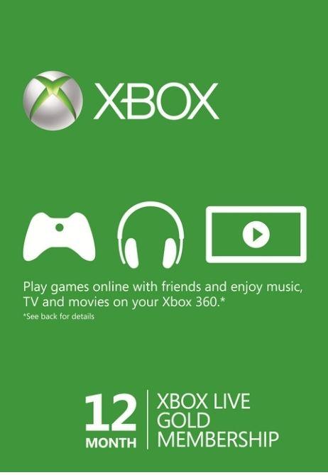 Xbox Live Gold 12 Months - £37.99 @ CDKeys