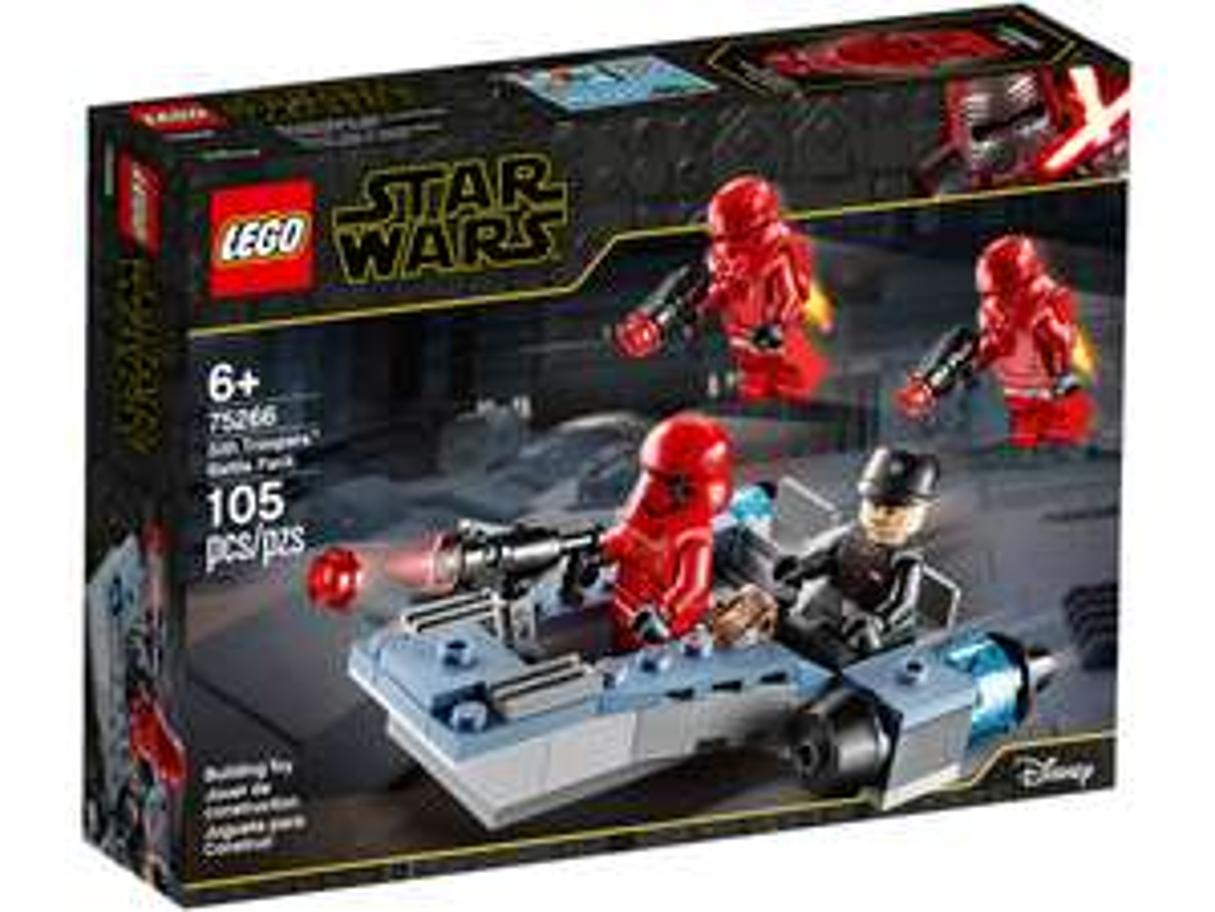 Lego Star Wars battle packs £11.99 at Lidl (Both Sith Trooper and Mandalorian battle packs)