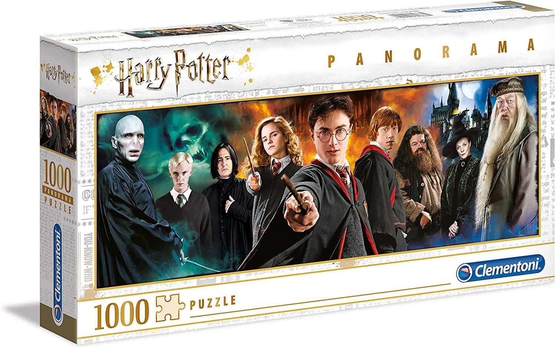 Clementoni 61883 Panorama Harry Potter-1000 Pieces, Jigsaw Puzzle for Adults, Multi-Colour £7.99 (Prime) £12.48 (Non-Prime) @ Amazon