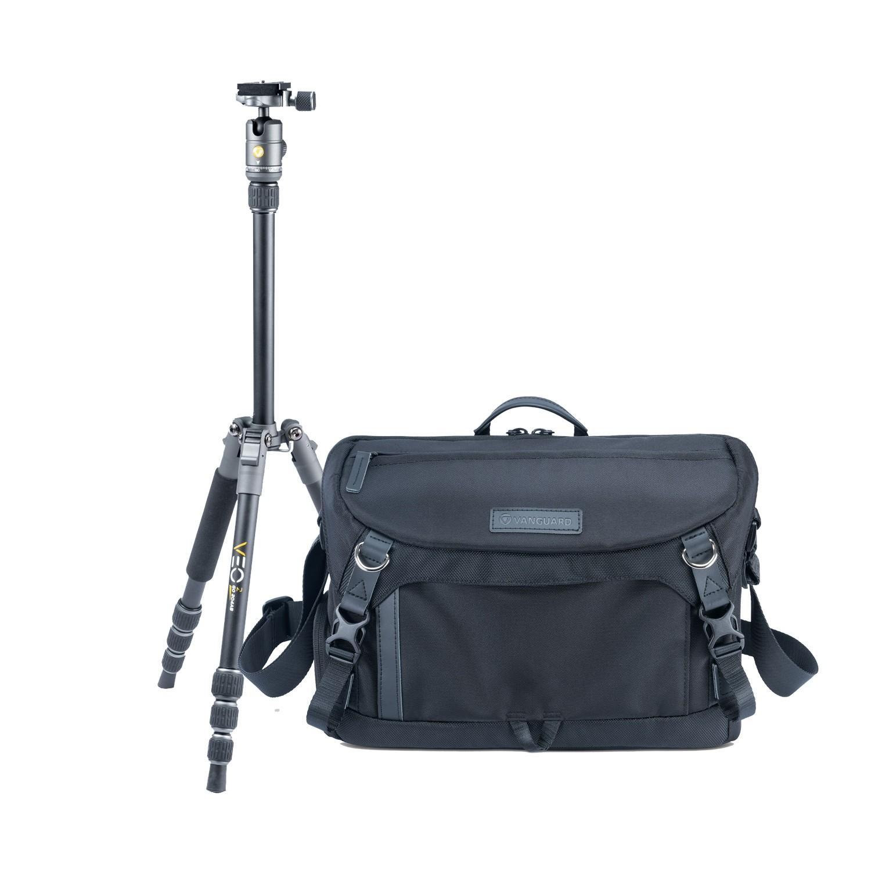 VEO 2 Capture Kit - Vanguard VEO GO 34M Mirrorless Camera Bag + vanguard veo 2 go 204ab aluminium travel tripod - £99.50, Cameraworld
