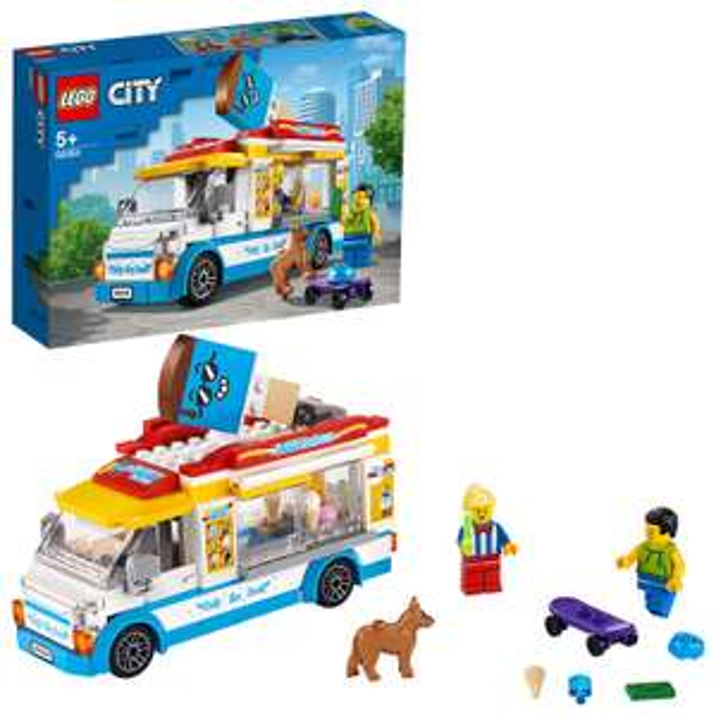LEGO 60253 City Great Vehicles Ice Cream Truck £14.40 + £4.49 NP @ Amazon