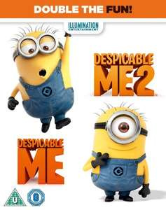Despicable Me / Despicable Me 2 (Blu-ray) - £2.99 Delivered @ Zoom