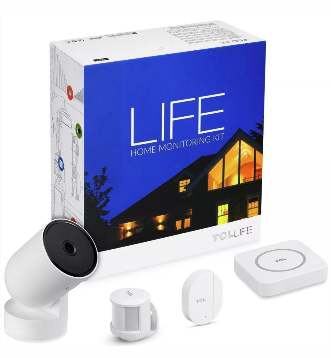 TCL LIFE Home Monitoring Kit (Home Bridge, IP Camera, Door Sensor, Motion Sensor) £29.99 @ Argos / Ebay