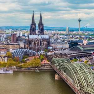2 Night weekend break Cologne March - 4* hotel + Return Flights Stansted = prices from £58pp (£117 total) @ eBookers