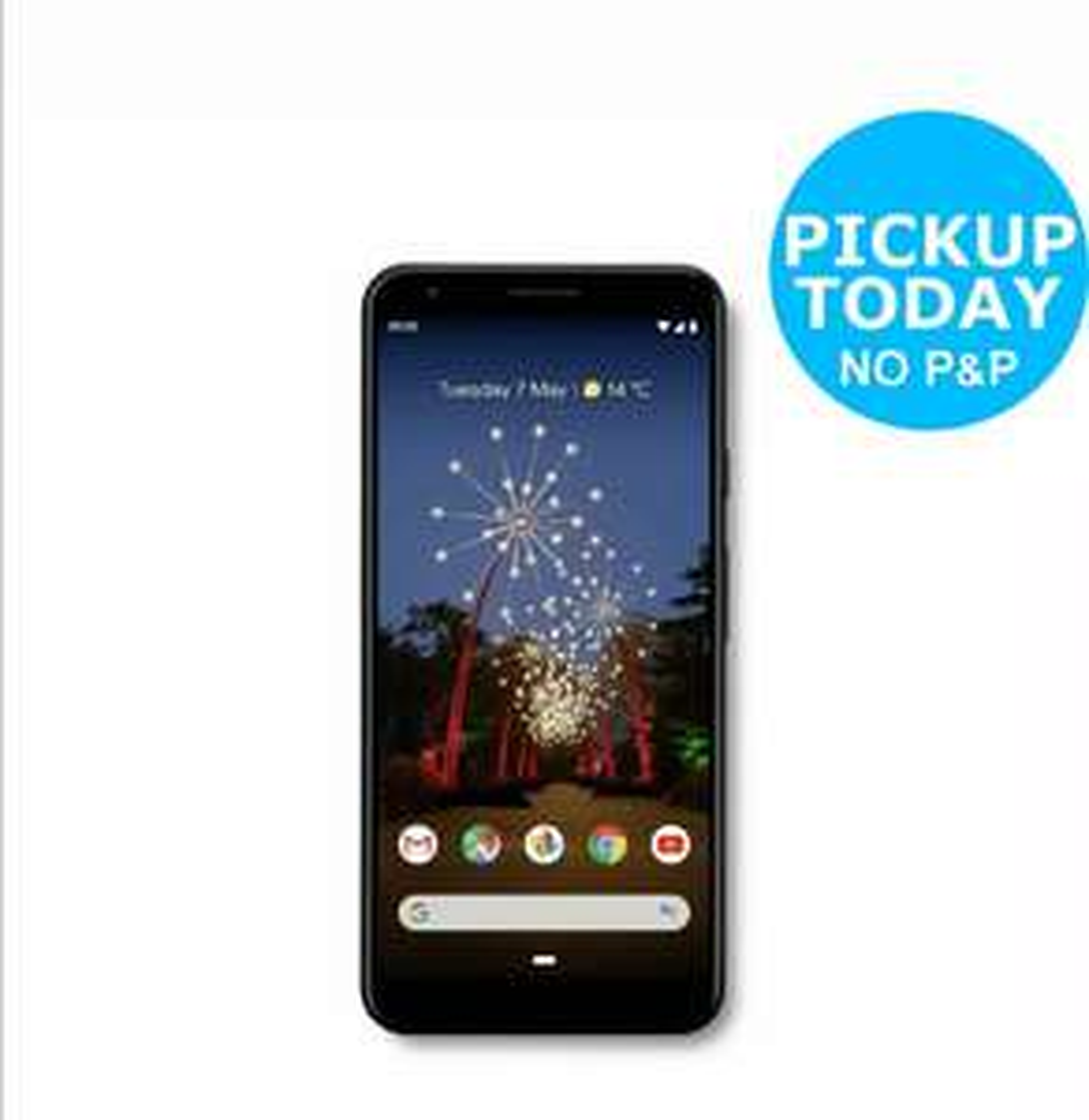 SIM Free Google Pixel 3a XL 64GB Mobile Phone - Black Smartphone £379.05 | Honor 20 £284.95 (With Code) @ Argos / Ebay