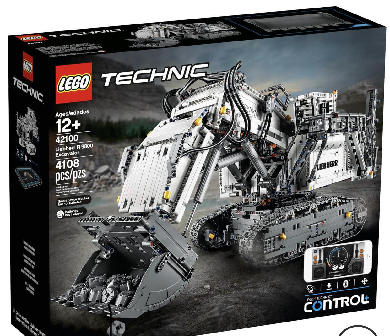 Lego 42100 Technic Liebherr R9800 £309.99 @ IWOOT
