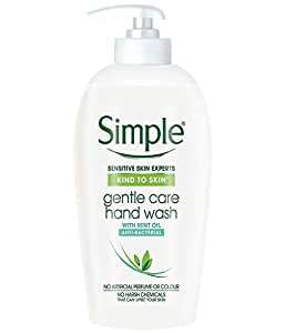 20% voucher and 5% subscribe and save 6 bottles simple hand soap for £4.50 @ Amazon Prime (+£4.49 non-Prime)