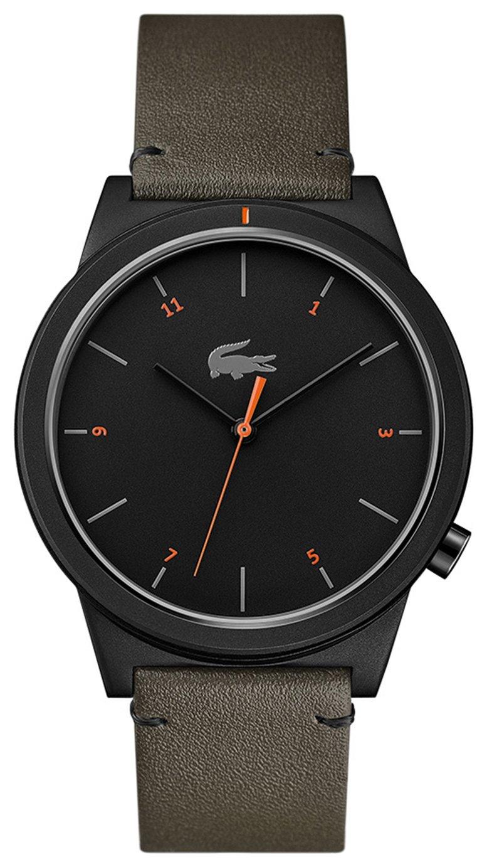 Lacoste Black Dial Mens Khaki Leather Strap Watch - £49.99 @ Argos (Free Collection)