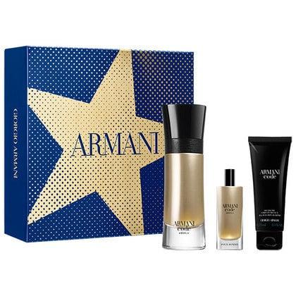 Armani Code Profumo 60ml + 15ml edt Gift Set and Armani Code Absolu 60ml + 15ml edp Gift Set buy both for £71.98 @ the perfume shop