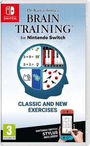 Dr Kawashima's Brain Training (Nintendo Switch) £22.99 @ Amazon