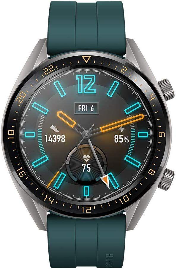 HUAWEI Watch GT Active, GPS, Amoled, 2-Week Battery, Heart Rate Green/Orange - £81.88 @ Amazon Germany