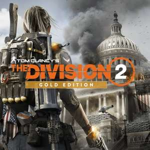 The Division 2 Gold Edition PS4 £11.99 (Ultimate £13.99 / Standard £7.99 / Year 1 pass £5.79) @ Playstation Store