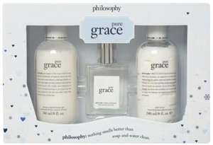 TK MAXX Philosophy pure grace fragrance set £7.99 + Click and collect £1.99