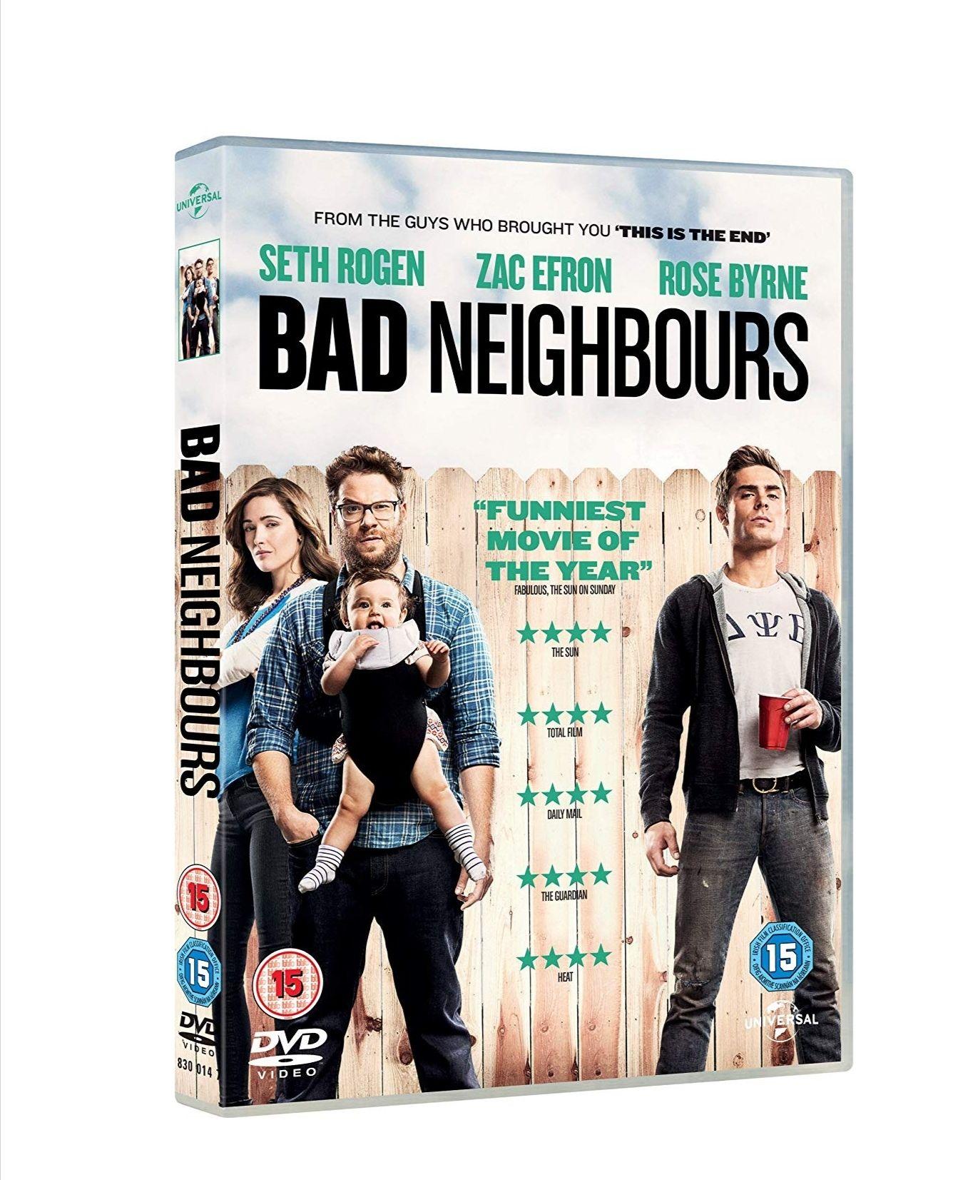 Bad Neighbours [DVD] [2014] £1.06 (Prime) / £4.05 (non Prime) at Amazon