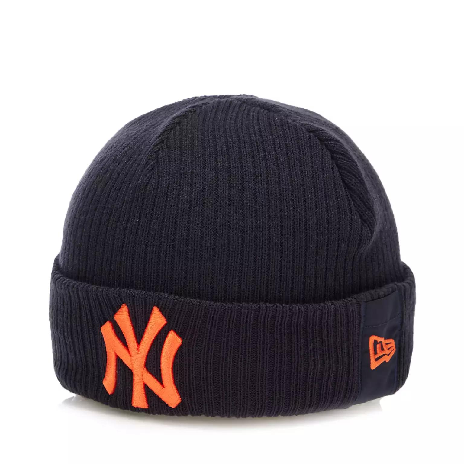 New Era - Navy New York Yankees Logo Beanie £7.80 at Debenhams (Free delivery with code)