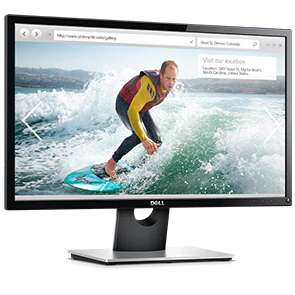 Dell SE2416H 24 Inch FHD IPS LED-Backlit LCD Antiglare Monitor, Black £85.49 at Dell with code