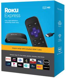 Roku Express HD Streaming Media Player £24.99 @ Argos