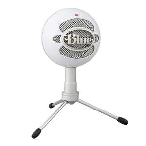 Blue Microphones Snowball iCE USB Mi Cardioid Condenser Capsule Adjustable Stand Plug & Play - White £38.13 Sold by KAZA UK & FB Amazon