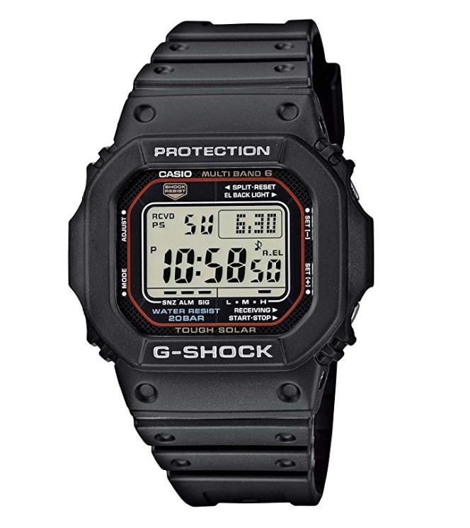 Casio GW-M5610-1ER G-Shock Unisex Watch, Black/Grey Tough Solar with Multiband 6 - £81 using voucher @ Amazon