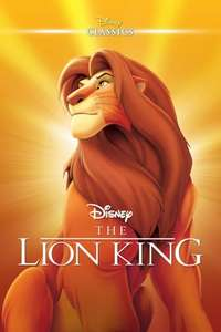 The Lion King (1994) - £6.99 on iTunes Store