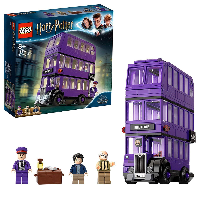 LEGO 75957 Harry Potter Knight Bus Toy, Triple-decker Collectible Set £24 @ Amazon