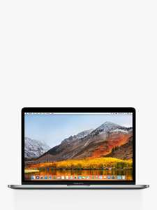 "2019 Apple MacBook Pro 13.3"" Touch Bar with Touch ID, Intel Core i5, 8GB RAM 128GB SSD, One Year Free Apple TV £1146 @ John Lewis & Partners"