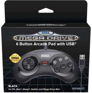 six button sega megadrive mini controller - £14.99 @ smyths