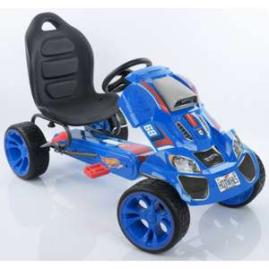 Hauck Hot Wheels XL Pedal Grow With Child Go-Kart (3-12yrs) - Blue £74.95 Delivered from Online4baby