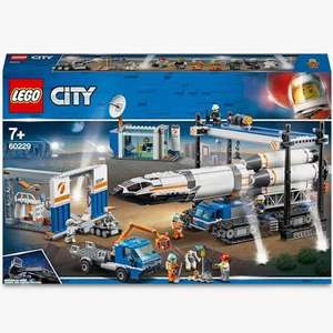 LEGO City 60229 Rocket Assembly & Transport Space Port £95.99 at John Lewis and Partners