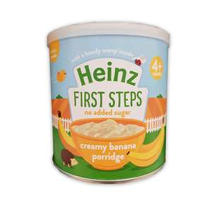 Heinz first steps creamy banana porridge 240g £1 Poundstretcher Oldbury