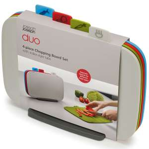 Joseph Joseph Duo 4 Piece Chopping Board Set Multicoloured Today Only £17.49 @ Robert Dyas (Free Click & Collect)