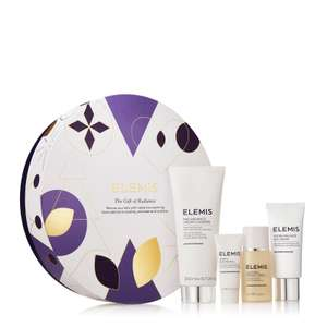 ELEMIS The Gift of Radiance £39 includes 4 luxury skincare Products + Free Delivery from Feelunique