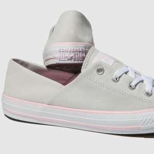 Converse All Star Peach Canvas Coral Trainers with Free click & collect or £1 delivery @ Schuh