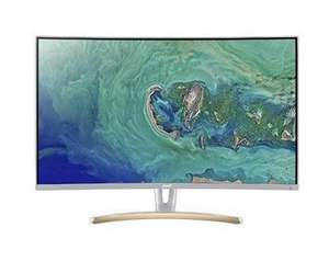 """Acer ED323QURWIDPX 31.5"""" WQHD Freesync 75Hz Curved Design Monitor £197.99 Delivered @ Box"""