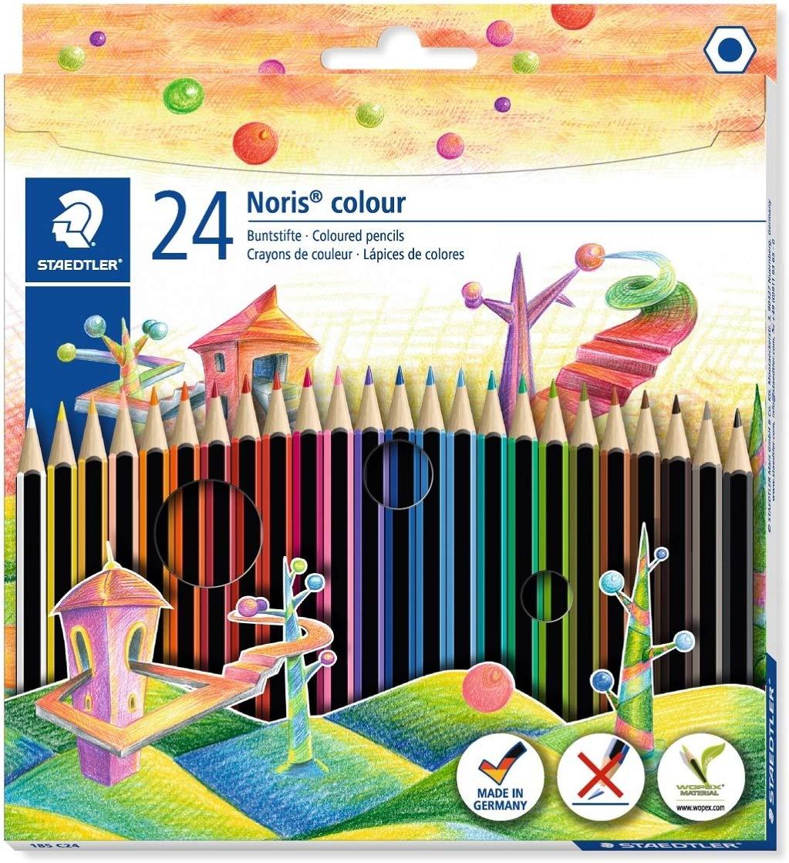 Staedtler 185 C24 Noris Colour Colouring Pencil - Assorted Colours £4.56 at Amazon Prime / £9.05 Non Prime